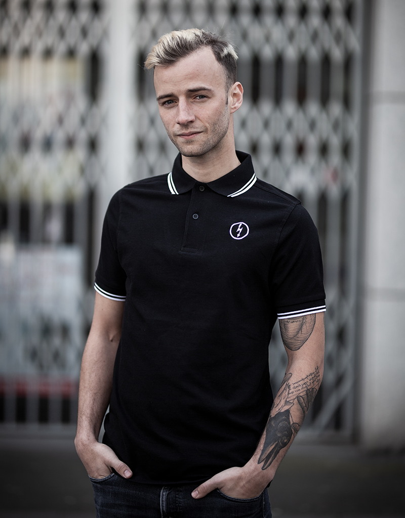 Useless Poloshirt - Flash Logo