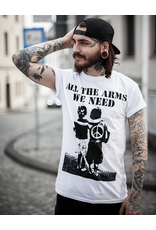 Useless All the arms we need - unisex T-Shirt, weiß