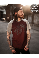 Useless Tattoo Logo College unisex T-Shirt, fair - burgundy/grau