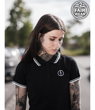 Ladies Poloshirt - Flash Logo