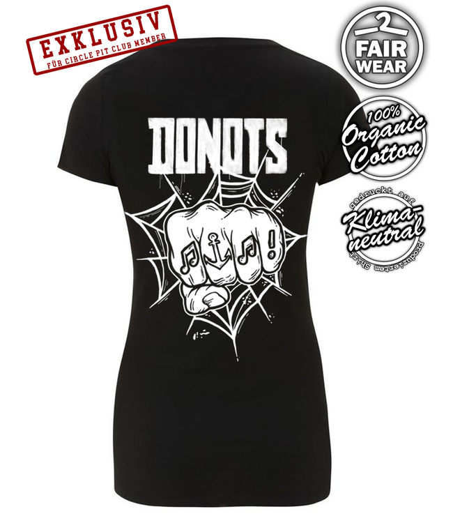 Donots x Useless - Circle Pit Club Special - Girlie  Shirt