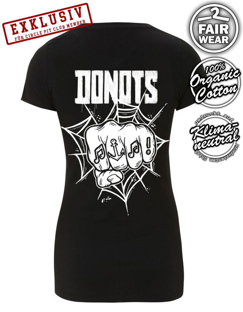 Useless Donots x Useless - Circle Pit Club Special - Girlie  Shirt