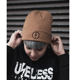 Useless Flash Beanie, Caramel