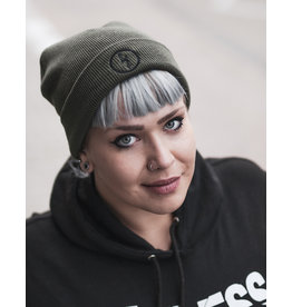 Useless Flash Beanie, Oliv