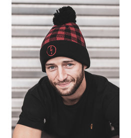 Useless Flash Beanie, kariert