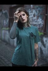 Useless Useless Spider - Petrol Acid Unisex T-Shirt