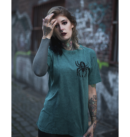 Useless Spider - Petrol Acid Unisex T-Shirt