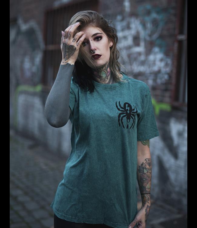 Useless Spider - Petrol Acid Unisex T-Shirt