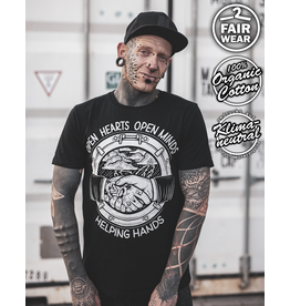 Useless Open Hearts - unisex T-Shirt bio & fair