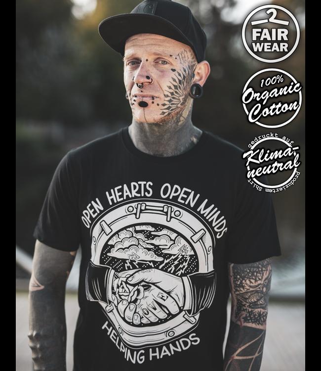 Open Hearts - unisex T-Shirt bio & fair