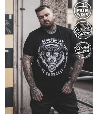 Be Different - unisex Shirt bio & fair, schwarz