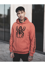 Useless Spider - Hoodie, rust orange