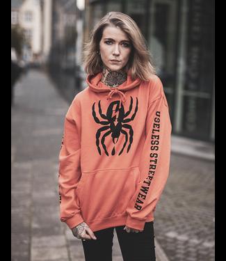 Spider - Hoodie, rust orange