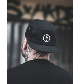Useless 5-Panel - Flash Logo Cap