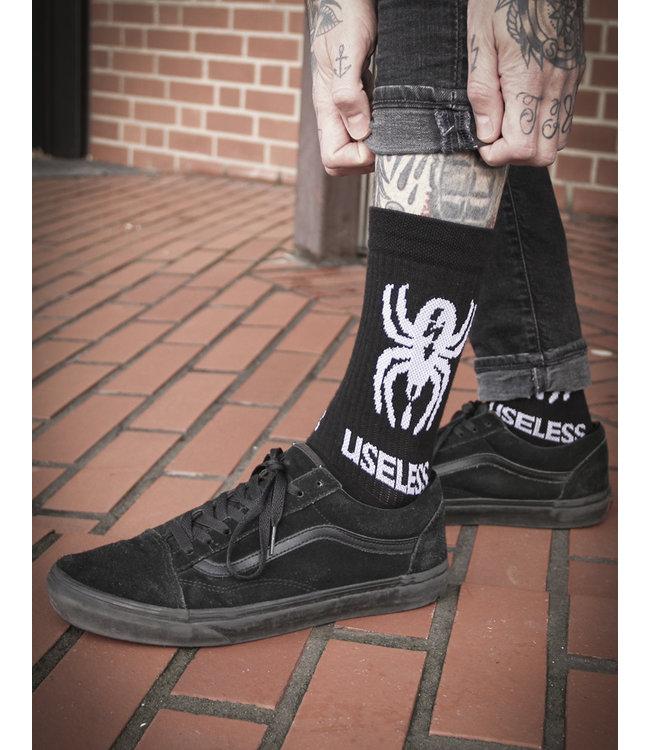 Spider Socks - schwarz