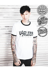 Useless Logo - Ringer Shirt - Bio & fair