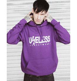 Useless Streethoodie, lila, unisex