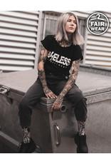 Useless Logo Girl Shirt - schwarz, fair