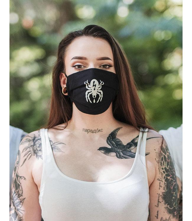 Mund-Nasen-Maske - Spider