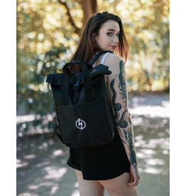 Useless Roll-Top Backpack - Flash Logo schwarz