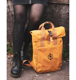 Useless Roll-Top Backpack - Flash Logo Mustard