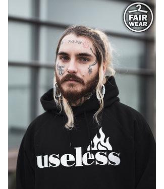 Let it burn - Fair unisex Hoodie - schwarz