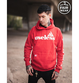 Useless Let it burn - Fair unisex Hoodie - rot