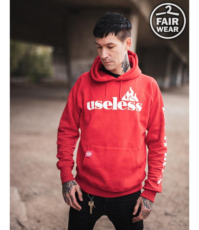 Let it burn - Fair unisex Hoodie - rot