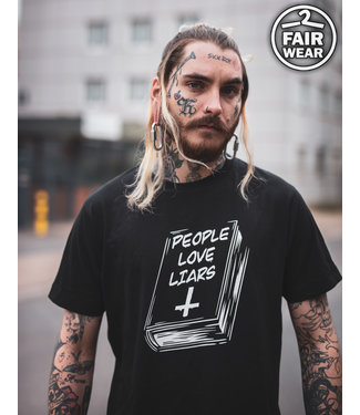 People Love Liars - unisex T-Shirt, fair