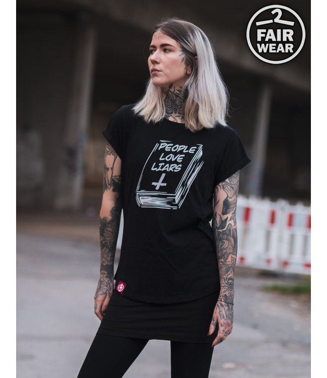 People Love Liars - Girl Shirt - fair