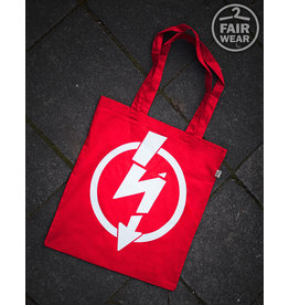 Useless Flash Logo - Rote Tasche, bio & fair