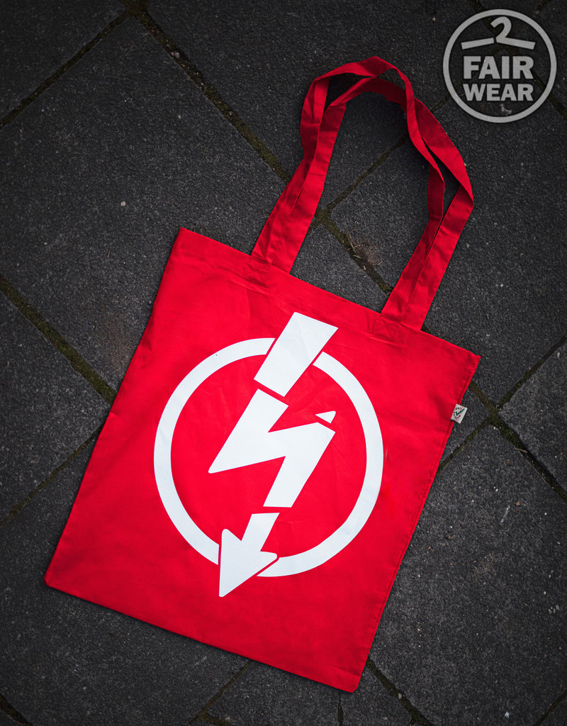 Useless Flash Logo - Rote Tasche, bio & fair