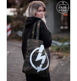 Useless Flash Logo - Camo Tasche, bio & fair