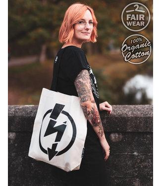 Flash Logo - Contrast Tasche, bio & fair