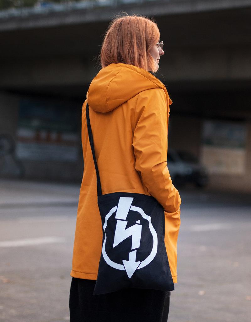 Useless Flash Logo - Umhängetasche schwarz