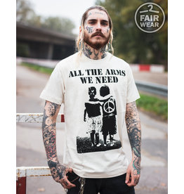 Useless All the arms we need - unisex, Fair T-Shirt Linen