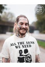 Useless All the arms we need - unisex T-Shirt, fair, Linen
