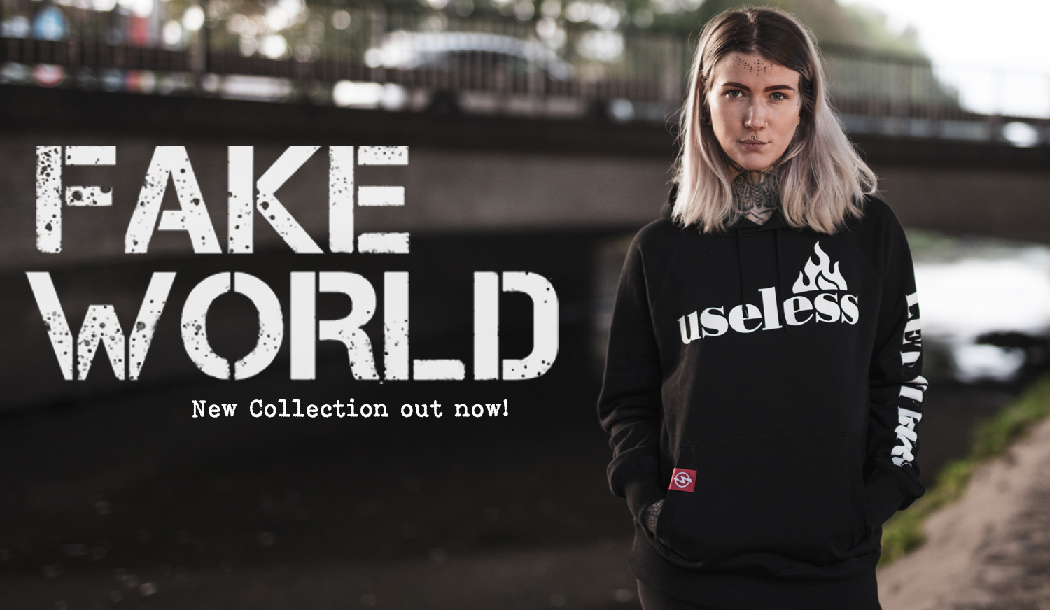 FAKE WORLD COLLECTION OUT NOW!
