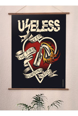 Useless Hochwertiger Qualitätsdruck Din A3 - Keep the fire burning inside