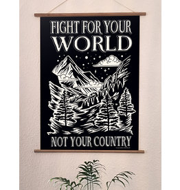 Useless Druck - Fight for your world not your country