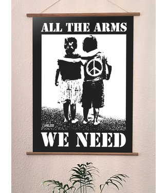 Poster Druck - All the arms we need