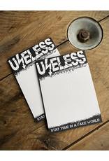 Useless Notizblöcke aus recyceltem Papier - klimaneutral gedruckt