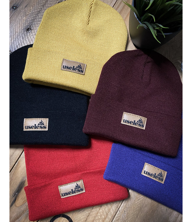 "Beanie ""Let it burn"" - div. Farben"