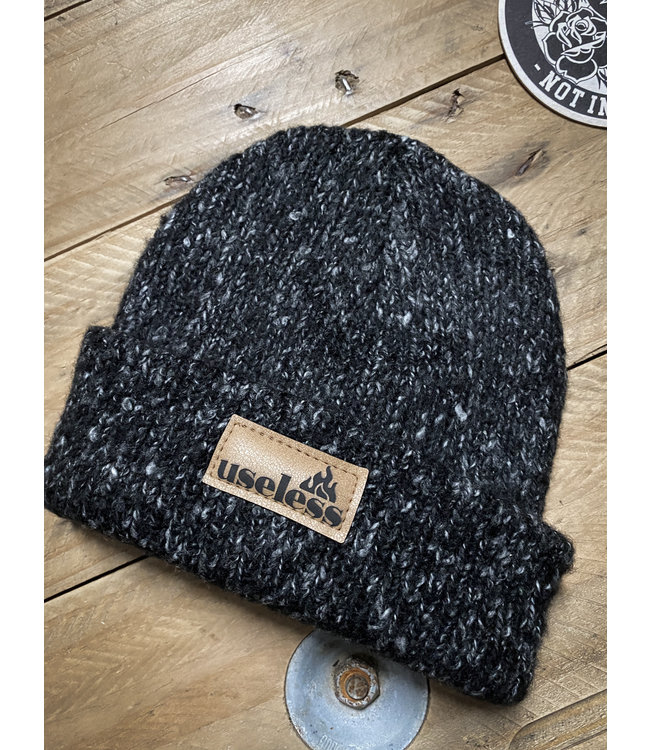 "Strickbeanie ""Let it burn"""