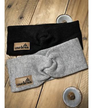 """Twist Knit Headband """"Let it burn"""" - div. Farben"""