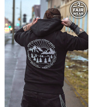 Peace Is A Place Without People - Fair Zipper