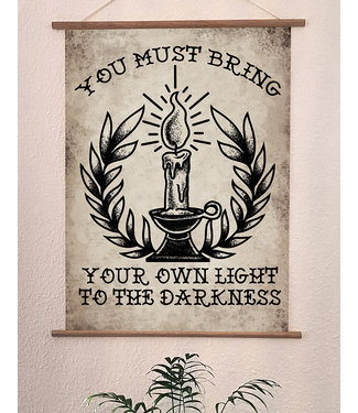 Poster Druck - Bring Your Light To The Darkness