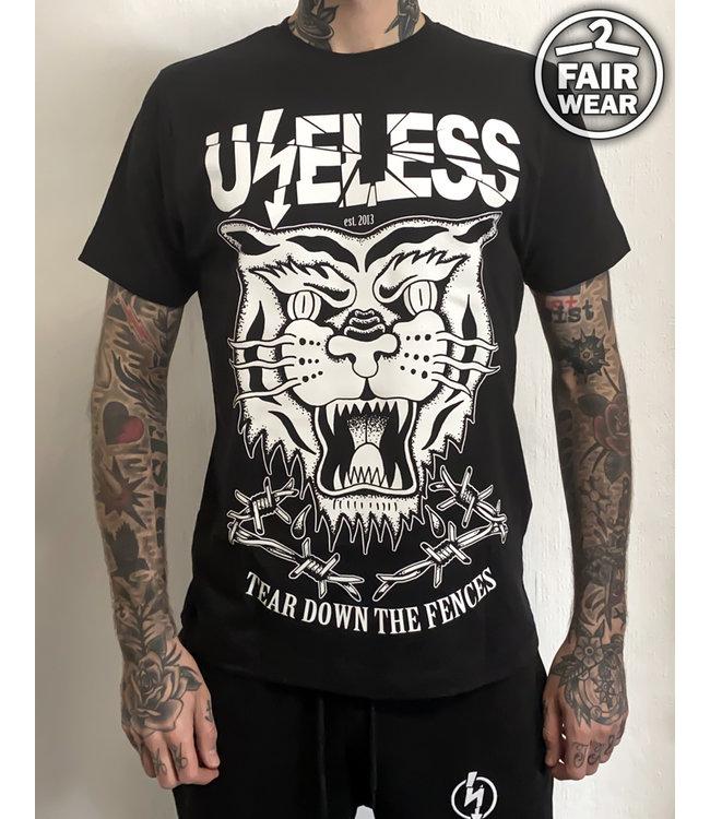 Tear Down The Fences - schwarz - Unisex T-Shirt