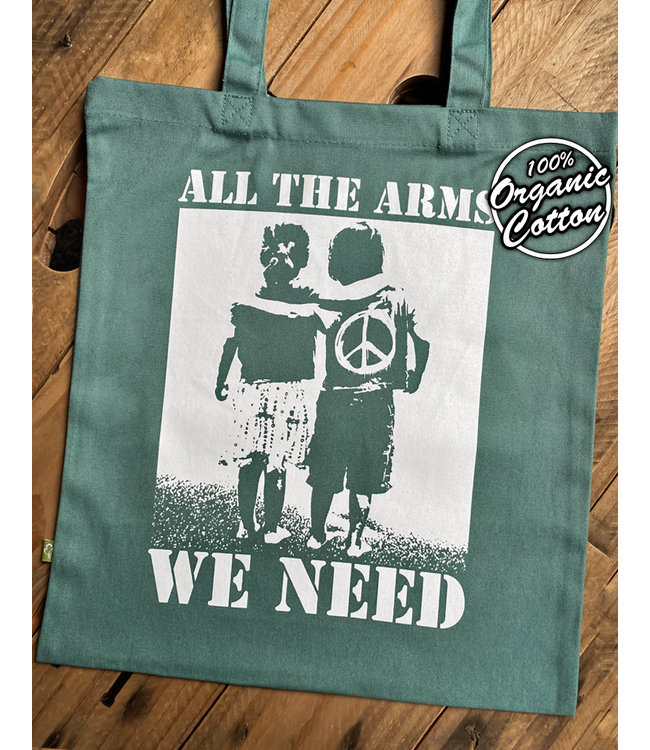 All The Arms We Need - Bio Tasche - Graugrün