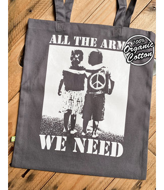 All The Arms We Need - Premium Bio Tasche - Graphit Grey